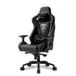 SHARKOON SKILLER SGS4 BLACK GAMING SEAT SYNTHETIC LEATHER 4D ARM COMFORT-SIZE