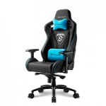SHARKOON SKILLER SGS4 BLACK/BLUE GAMING SEAT SYNTHETIC LEATHER 4D ARM COMFORT-SIZE