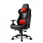 SHARKOON SKILLER SGS4 BLACK/RED GAMING SEAT SYNTHETIC LEATHER 4D ARM COMFORT-SIZE