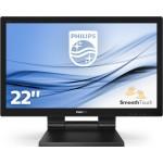 PHILIPS 222B9T/00 21.5 -1920X1080-TOUCH 10 TOCCHI- VGA-DVI/D-DP-HDMI