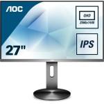 AOC Q2790PQU/BT 27  16 9 350CD/M2 IPS VGA HDMI Dp 2560 x 1440