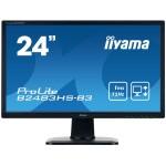 IIYAMA B2483HS-B3 24 1920X1080 250CD/M2 1MS SPEAKER VGA/HDMI/DP