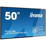 IIYAMA LE5040UHS-B1 50 3840X2160 4K UHD AMVA3 PANEL 350 CD/M2 4000 1