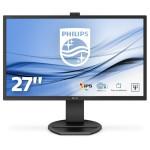 PHILIPS 271B8QJKEB/00 27 -1920X1080-IPS-VGA-DVI/D-DP-HDMI-WEBCAM-MULTIME