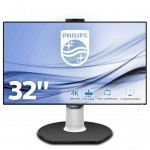 PHILIPS 329P9H/00 32  LED IPS 4K USB-C DOCKING STATION MONITOR.