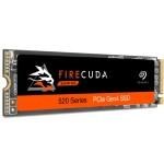 SEAGATE ZP500GM3A002 500GB SEAGATE FIRECUDA 520 M2 PCIE NVME 1.3 GEN4