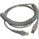 DATALOGIC 90A052187 CABLE, USB TYPE A POT COIL 2.4M