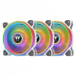 THERMALTAKE CL-F101-PL14SW-A RIING QUAD 14 RGB 3 PACK WHITE