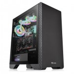 THERMALTAKE CA-1P5-00M1WN-00 CASE MID TOWER S300 TG BLACK - TEMPERED GLASS