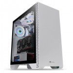 THERMALTAKE CA-1P5-00M6WN-00 CASE MID TOWER S300 TG SNOW - TEMPERED GLASS