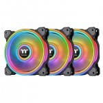 THERMALTAKE CL-F088-PL12SW-A RIING QUAD 12 RGB 3 PACK
