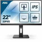 AOC 22P2Q 21.5 16:9 1920X1080 IPS VGA DVI HDMI MULTIMED