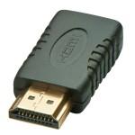 LINDY LINDY41208 ADATTATORE MINI HDMI TIPO C F A HDMI TIPO A M