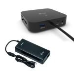 I-TEC C31DUALDPDOCKPD100W USB-C DUAL DISPLAY DOCKING STATION