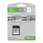NVIDIA BY PNY P-SD32GU1100EL-GE 32GB PNY SD ELITE CLASS 10 UHS-I U1 100MB/S