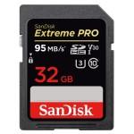 SANDISK SDSDXXG-032G-GN4IN 32GB SANDISK EXTREME PRO SDHC 95MB/S V30 UHS-I U3