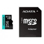ADATA TECHNOLOGY B.V. AUSDX256GUI3V30SA2-RA1 ADATA MICRO SDXC 256GB UHS-I U3 V30S A2 100-80MB/S