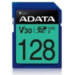 ADATA TECHNOLOGY B.V. ASDX128GUI3V30S-R ADATA SDXC 128GB UHS-I U3 V30S 100-80MB/S