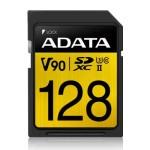 ADATA TECHNOLOGY B.V. ASDX128GUII3CL10-C 128GB PREMIER ONE SDXC UHS-II U3 C10 290MB/260MB
