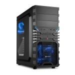 SHARKOON VG4-W BLUE CASE 2XU2, 2XU3, WINDOW, 2XLED