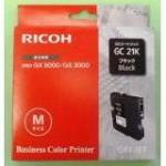 RICOH 405532 PRINT CARTRIDGE NERO DURATA STANDARD GC21K PER GX.