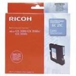 RICOH 405533 PRINT CARTRIDGE CIANO DURATA STANDARD GC21C PER GX