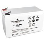 TECNOWARE EACPE12V7A2TWB BATTERIA TECNOWARE 12VDC 7.2AH ERMETICA AL PIOMBO