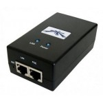 UBIQUITI POE-24-12W POE ADAPTER 24V/0,5A (12W), W/POWER CABLE (EU)