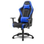 SHARKOON SKILLER SGS2 BLACK/BLUE GAMING SEAT FABRIC CLASS-4 GASLIFT3D ARMREST 60MM