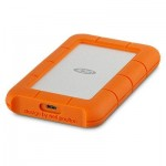 LACIE STFR4000800 4TB LACIE PORTABLE HDD RUGGED USB-C