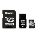 HAMLET XSD032-U3V30 MICRO SD HC CL. U3 V30 32GB