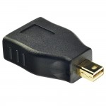 LINDY LINDY41077 ADATTATORE MINI DISPLAYPORT M / DISPLAYPORT F