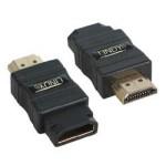 LINDY LINDY41231 ADATTATORE HDMI M F GOLD