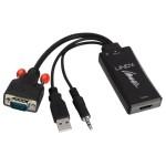 LINDY LINDY38183 CONVERTER VGA   AUDIO A HDMI
