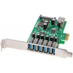 LINDY LINDY51067 SCHEDA PCIE USB 3.0 6+1 PORTE