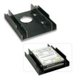 LINDY LINDY40559 Frame per 2 HDD da 2,5  in uno slot da 3,5