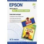 EPSON C13S041106 CARTA SPECIALE AUTOADESIVA FORMATO A4  10 FOGLI