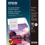 EPSON C13S041569 CARTA OPACA MATTE PER STAMPE FRONTE RETRO A4 50FG