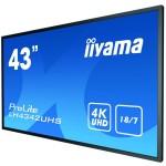 IIYAMA LH4342UHS-B1 43 LCD UHD SDM-S 3840X2160 500NIT 18/7 ANDROIDOS 8