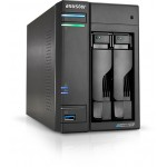 ASUSTOR INC. AS6602T ASUSTOR NAS 2 BAIE J4125 QC 2.0GHZ 4GB DDR4
