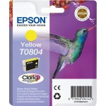 EPSON C13T08044011 CARTUCCIA CLARIA PHOTO T0804 COLIBR  74 ML GIALLO
