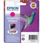 EPSON C13T08034011 CARTUCCIA CLARIA PHOTO T0803 COLIBR  74ML MAGENTA