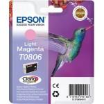 EPSON C13T08064011 CARTUCCIA CLARIA PHOTOT0806 COLIBR  MAGENTA CHIARO