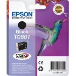 EPSON C13T08014011 CARTUCCIA CLARIA PHOTO T0801 COLIBR   74 ML NERO