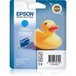 EPSON C13T05524010 CARTUCCIA SERIE T0552 PAPERELLA 80 ML CIANO