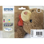 EPSON C13T06154010 MULTIPACK 4 CARTUCCE T0615 ORSETTO