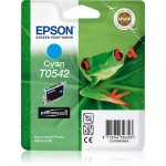 EPSON C13T05424010 CARTUCCIA ULTRACHROME  T0542 RANA  130 ML CIANO