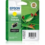 EPSON C13T05444010 CARTUCCIA ULTRACHROME  T0544 RANA  130 ML GIALLO