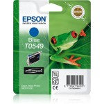 EPSON C13T05494010 CARTUCCIA ULTRACHROME T0549 RANA  130 ML BLU