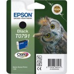 EPSON C13T07914010 CARTUCCIA CLARIA  PHOTO T0791 GUFO  111 ML NERO